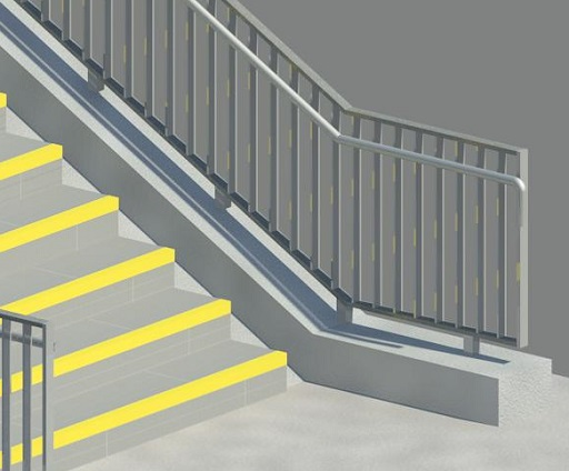 Treppe gem. RIL 813 für REVIT