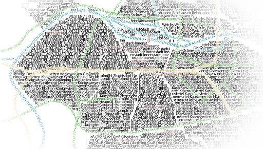 Typographische Karte mit Hilfe von QGIS